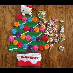 Hello kitty Xmas bundle! Calendar, plushes, Light